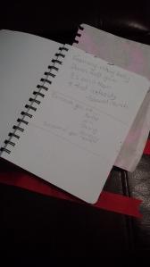 visual diary page 2