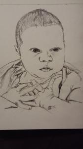 R newborn sketch